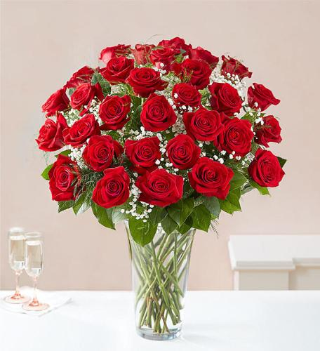 Ultimate Elegance™ Long Stem Red Roses
