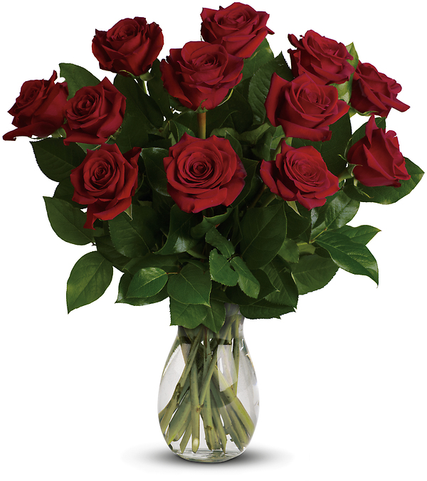 My True Love Bouquet with Long Stemmed Roses